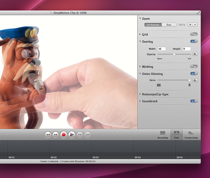 iStopMotion for Mac
